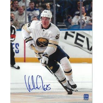 Victor Olofsson Autographed Buffalo Sabres Anniversary 8x10 Hockey Photo
