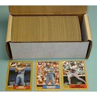 1987 O-Pee-Chee Baseball Complete Set