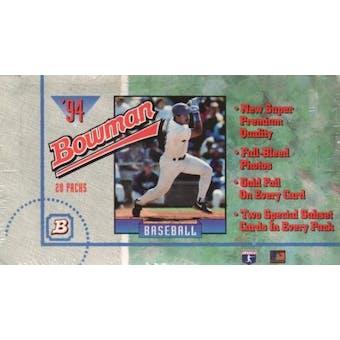 1994 Bowman Baseball Jumbo Box