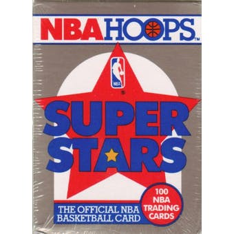 1990/91 Hoops Super Stars Basketball Factory Set
