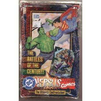 DC Versus Marvel Comics Hobby Box (1995 Fleer Skybox)