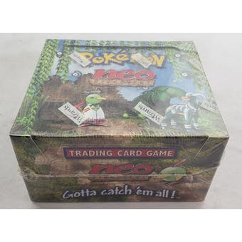 Pokemon Neo Discovery Unlimited Booster Box (Reed Buy)