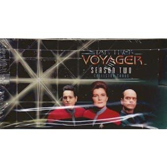 Star Trek: Voyager Season Two Hobby Box (1996 Skybox)