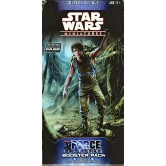 WOTC Star Wars Miniatures The Force Unleashed Booster Pack