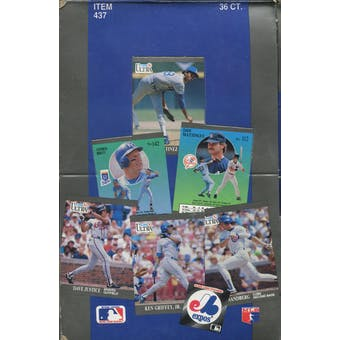 1991 Fleer Ultra Baseball Wax Box