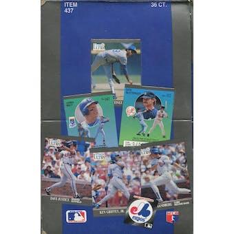 1991 Fleer Ultra Baseball Wax Box