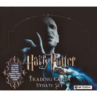 Harry Potter Order of the Phoenix Update Hobby Box (2007 Artbox)