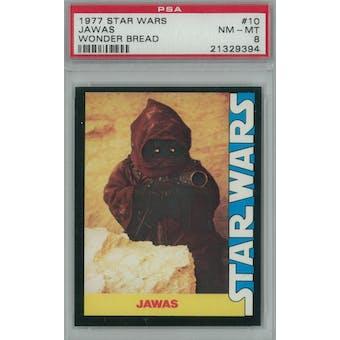 1977 Star Wars Wonder Bread #10 Jawas PSA 8 (NM-MT) *9394 (Reed Buy)
