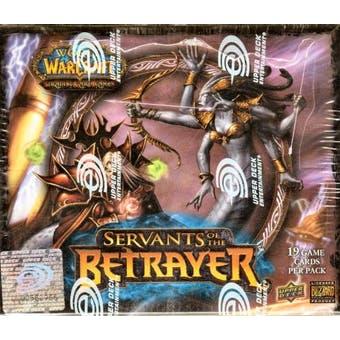 World of Warcraft Servant of the Betrayer Booster Box