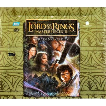 Lord of the Rings Masterpieces II Trading Cards Box (2008 Topps)