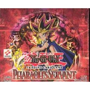 Upper Deck Yu-Gi-Oh Pharaoh's Servant 1st Edition Booster Box (24-Pack) PSV