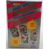 1991 Pacific Plus Series 1 Football Wax Box (Reed Buy)