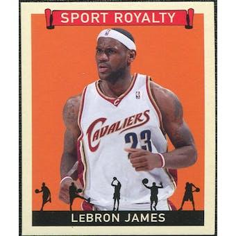 2007 Upper Deck Goudey Sport Royalty #LJ LeBron James