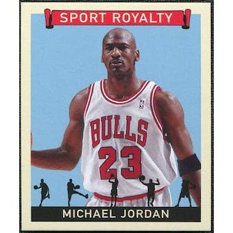 2007 Upper Deck Goudey Sport Royalty #MJ Michael Jordan