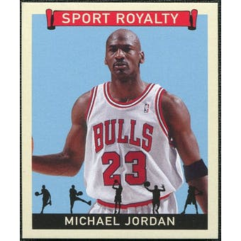 2007 Upper Deck Goudey Sport Royalty #MJ Michael Jordan