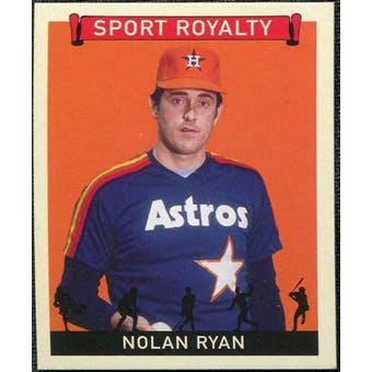 2007 Upper Deck Goudey Sport Royalty #NR Nolan Ryan
