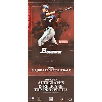 2007 Bowman Sterling Baseball Hobby Box