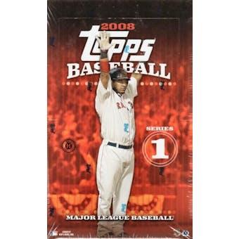 2008 Topps Series 1 Baseball Hobby Box