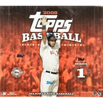 2008 Topps Series 1 Baseball Jumbo Box