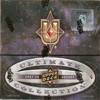 2007/08 Upper Deck Ultimate Collection Hockey Hobby Box