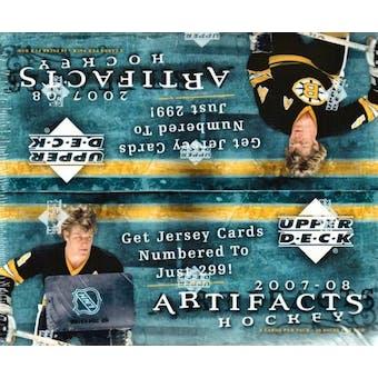 2007/08 Upper Deck Artifacts Hockey 24-Pack Box