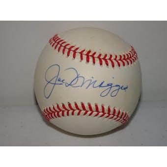 Joe DiMaggio Autographed AL Brown Baseball PSA/DNA D57460 (Reed Buy)