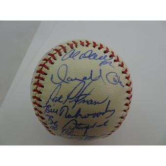 1984 Seattle Mariners Team Signed Non-Official Baseball (32 sigs) PSA/DNA D57488 (Reed Buy)