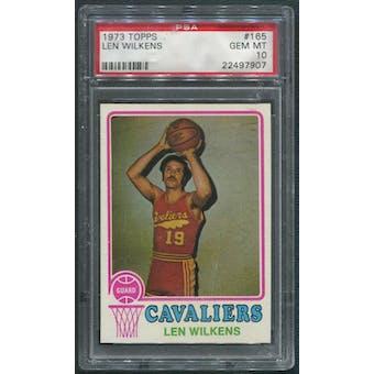 1973/74 Topps Basketball #165 Len Wilkens PSA 10 (GEM MT)