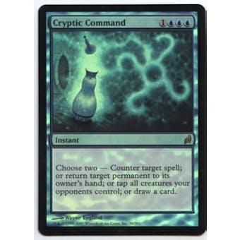 Magic the Gathering Lorwyn Single Cryptic Command FOIL NEAR MINT