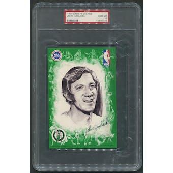 1975/76 Celtics Linnett #2 John Havlicek Green Borders PSA 10 (GEM MT)