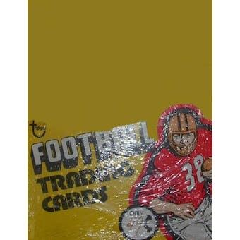 1975 Topps Football Rack Box