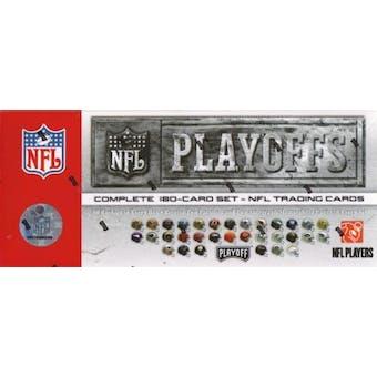 2007 Playoff NFL Playoffs Football Factory Set (Box Tin)