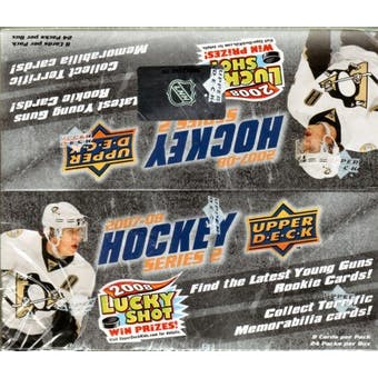 2007/08 Upper Deck Series 2 Hockey 24-Pack Box