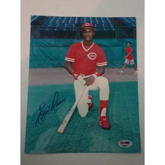Eric Davis Autographed Reds 8x10 Photo PSA/DNA D96217 (Reed Buy)