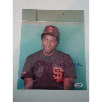 Tony Gwynn Autographed Padres 8x10 Photo PSA/DNA D96224 (Reed Buy)