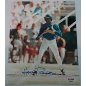Harold Reynolds Autographed Mariners 8x10 Photo PSA/DNA D96244 (Reed Buy)