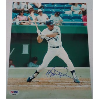 Kevin Seitzer Autographed Royals 8x10 Photo PSA/DNA D96250 (Reed Buy)