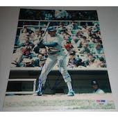 Pete Incaviglia Autographed Rangers 8x10 Photo PSA/DNA D96297 (Reed Buy)