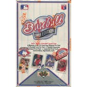 1991 Upper Deck Low # Baseball Wax Box (Reed Buy)