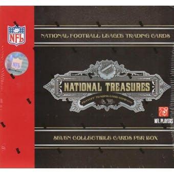 2007 Playoff National Treasures Football Hobby Box