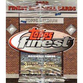 2008 Topps Finest Baseball Hobby Box