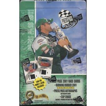 2001 Press Pass Racing Hobby Box