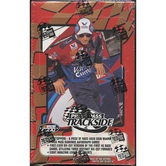2000 Press Pass Trackside Racing Hobby Box