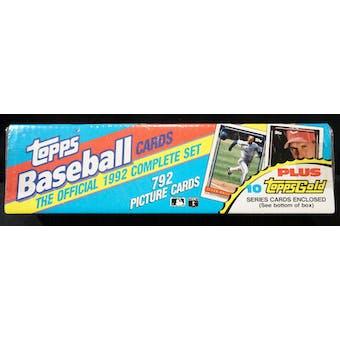 1992 Topps Baseball Factory Set (Christmas Set) (Reed Buy)