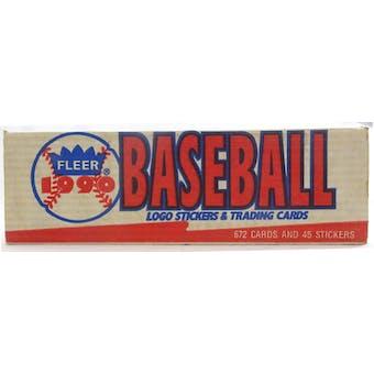 1990 Fleer Baseball Factory Set (White) (Reed Buy)