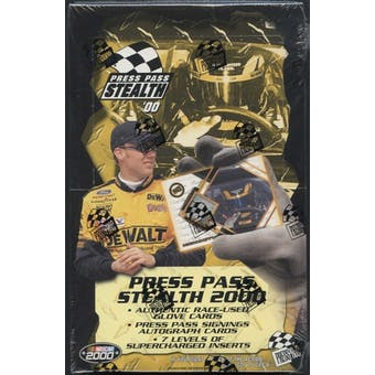 2000 Press Pass Stealth Racing Hobby Box