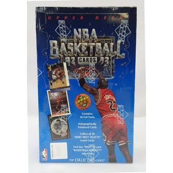 1992/93 Upper Deck Low # Basketball Hobby Box (Reed Buy)