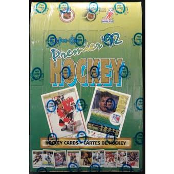 1991/92 O-Pee-Chee Premier Hockey Wax Box (Reed Buy)