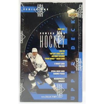 1993/94 Upper Deck Series 1 Hockey Hobby Box (Reed Buy)