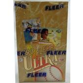 1993 Fleer Ultra Series 1 Baseball Hobby Box (Reed Buy)
